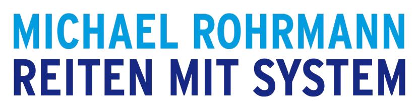 Michael Rohrmann - Reiten mit System